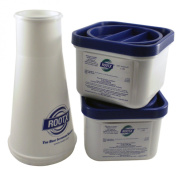 ROOTX - The Root Intrusion Solution Kit - Two 0.9kg Containers Plus Funnel - Bundle 3 Items