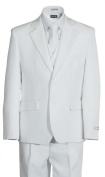Boys 2 Button First Holy Communion Suit - White