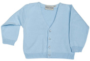 Boutique Collection Boy's Blue V-Neck Cardigan Sweater