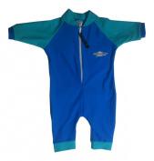 Stingray Australia Baby UV Sun Protection Romper Bathing Suit- Royal Jade size 1