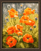 Paint By Number 41cm X 50cm Kit Beauty Flowers 8