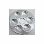 Aluminium Palette 6-Well Round 13cm