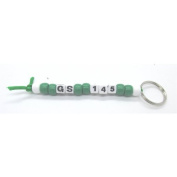 Girl Scout Troop Key Chain Kits - Makes 10 Key Chains