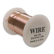 Tarnish Resistant Copper Wire 20 Gauge 15 Yard (13.5m) Copper Colour 42684