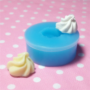 Kawaii Cute Whipped Cream Fondant Silicone Mould for Cake Cookie Phone CellPhone Decorating Chocolate Soap Epoxy Clay Fimo Clay 038LBX
