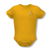 Star Trek Command Uniform Infant Snapsuit