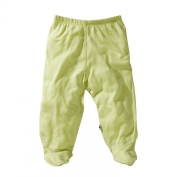 Babysoy Baby Girls' O Soy Footie Pants
