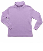 Leveret Solid Turtleneck 100% Cotton (2-5 Toddler) Variety of Colours