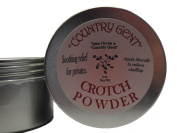 """Crotch Powder, 120ml Tin, Puff included """"Country Gent"""""""