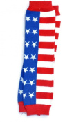 KWC - USA America Flag Stars Baby Leg Warmer/ Leggings