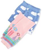 Jefferies Socks, Llc Baby-Girls Newborn Clouds Capri
