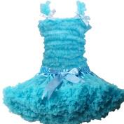 Buenos Ninos Girl's chiffon Pettiskirt Set Size 1-2T Blue