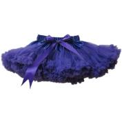 Buenos Ninos Girl's Dance Tutus Chiffon Pettiskirt Size 1-2T Purple