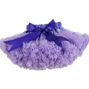Buenos Ninos Girl's Solid Colour Dance Pettiskirt Size 5-6T Lanvender