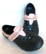 Doggers, Women's Ultralite, Black/Pink, Size 5/6