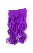 X & Y ANGEL -New One Piece Long Curl/curly/wavy Synthetic Thick Hair Extensions Clip-on Hairpieces 26 Colours