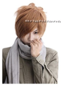 Flyingdragon Death Note Yagami Light Short Brown Cosplay Party New Wig