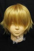 Modou Cosplay Powers Hetalia APH England Arthur Kirkland Cosplay Short Blonde Wig