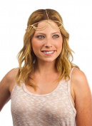 JY jewellery Fashion Style Women Gold Metal Gypsy Hipster Head Chain Jewellery Headband H17