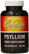 Carlson Labs Psyllium Fibre Supplement, 500mg, 100 Capsules