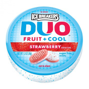 Ice Breakers Duo Fruit + Cool Mints, Strawberry, 40ml Containers
