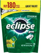Eclipse Spearmint Sugarfree Gum Refill, 180 Pieces, 260ml