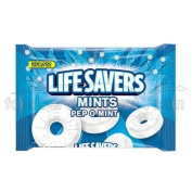 LifeSavers Pep O Mint Mints, 380ml bag