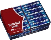 Wrigleys Winterfresh Twin Box 2-40 ct Boxes