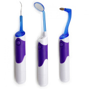 Ckeyin Tooth care Pick Scaler Mirror Dental Care Tools Kit All With LED Light