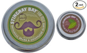 Botanical Beard Gloss and Bay Rum Solid Fragrance for Men