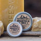 Moustache Wax, 30ml tin. All-Natural & Handmade.