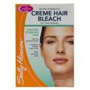 Sally Hansen Extra Strength Creme Hair Bleach For Arms, Legs & Face 1 kit