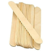 1000 Ct. Professional Large Wooden Body Waxing Spatulas Applicators Tongue Depressor - Skin Care ~ Medical