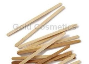 1000 Ct. Narrow Thin Wooden Waxing Applicator for Face & Eyebrow - Wood Stick Wax Spatula Hair Removal