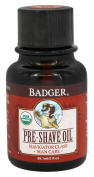 Badger Man Care Pre-Shave Oil, 60ml bottle