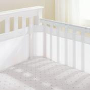 AirFlowBaby 36cm Mesh Crib Liner, White
