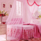 Icibgoods Dome Bed Canopy Netting Princess Mosquito Net for Babies and Adults Home