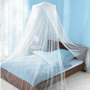 Icibgoods Dome Bed Canopy Netting Princess Mosquito Net for Babies Adults Home