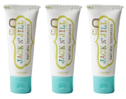 Jack N' Jill Natural Toothpaste Organic 50g, Set of 3 - Blueberry