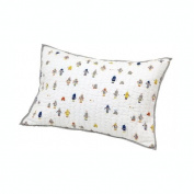 Auggie Quilted Decorative Pillow Cover, Robot March