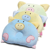 Soft Newborn Baby Round Pillow Sleeping Support Prevent Pad Flat Head Cushion