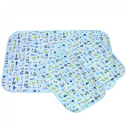 MyKazoe Waterproof Bassinet Play Yard Pad & Lap Pads - Set of 3