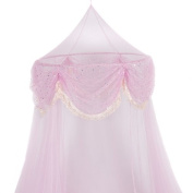 Bed Mosquito Netting Canopy Pink Princess Bedding Bed Netting Children Kids New