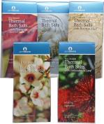 Pure Source New Zealand Bath Salts Set of Five