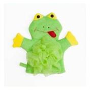 Mommys Helper Bath Mitt with Loofa Sponge