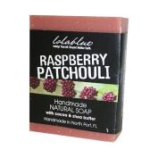 Lolablue Raspberry Patchouli Soap Palm Oil Free