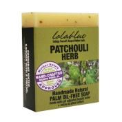 Lolablue Patchouli Herb Soap Palm Oil Free