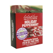 Lolablue Soap Holiday Peppermint Palm Oil-Free