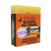 Lolablue Bug Repellant Soap Blissful Bug Armour Palm Oil Free