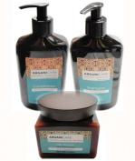 Arganicare Shampoo, Conditioner & Hair Masque 3 pc Gift Set